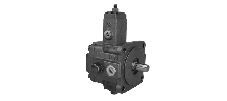 How does the vane pump work, and what is the principle?