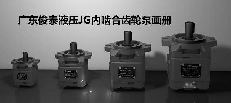 广东俊泰matext客户端JG内啮合齿轮泵画册