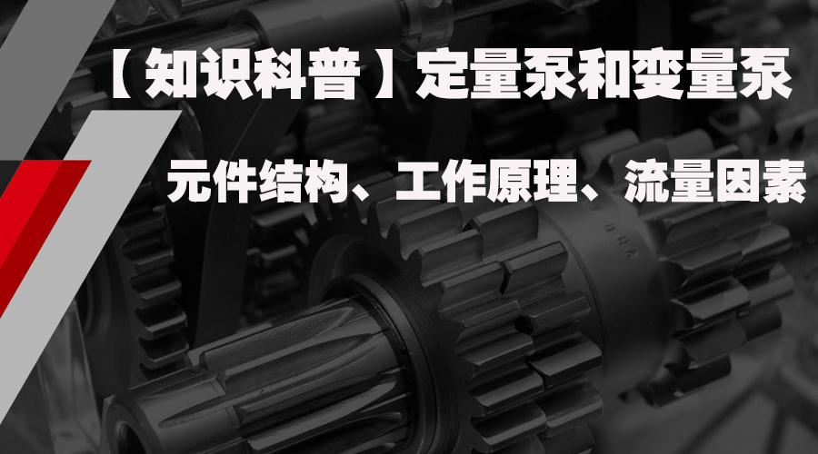 【matext客户端知识】定量泵和变量泵的结构、工作原理、流量因素(教学版本)非常详细!
